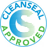 CleanSeal® certification is a testing and accreditation program for products suitable for use on carpets, rugs and other interior textiles made from synthetic fibres, and is underwritten and operated by The WoolSafe® Organization.